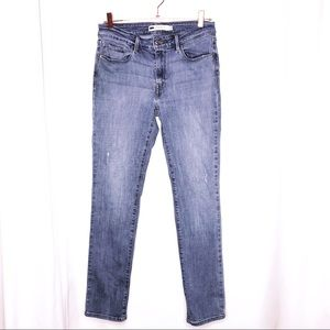 Levi's Woman's 10 Mid Rise Skinny Blue Jeans